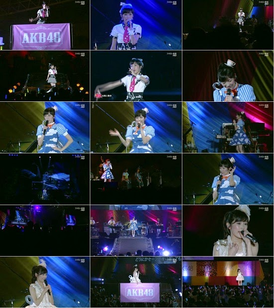 (TV-Variety)(720p) AKB48グループ 夏祭り 渡辺麻友ソロライブ 141123