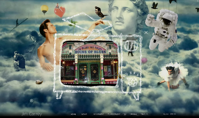 *讓我們來一窺金凱瑞的奇妙世界吧! Jim Carrey - Official Web Site 6