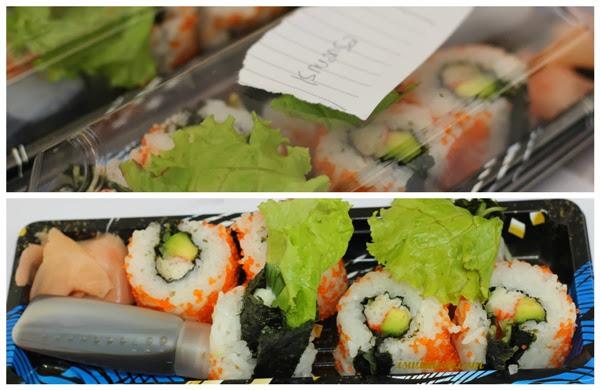Berhasil Bikin Sushi!