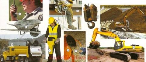 Sitio del contruction-trabajo/ocupaciones-Diccionario del cuadro