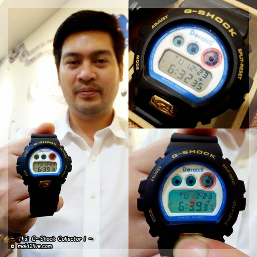 Thai G-Shock Collector รุ่นสะสม Doratch dw-6900