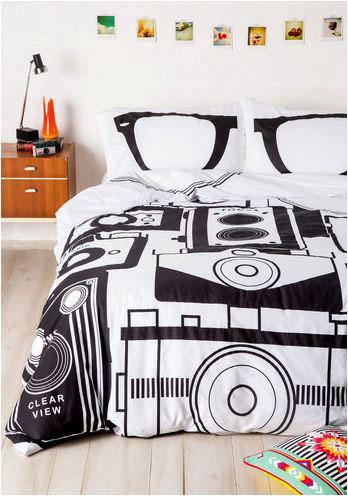 Dormitorio hipster.