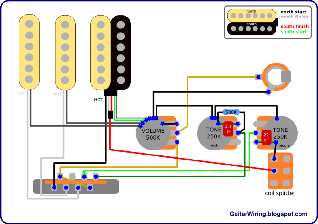 fender wiring diagram stratocaster hss wiring diagram fender hss wiring diagrams images