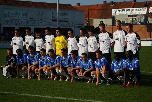 Club Roeselare en SV Roeselare groepsfoto