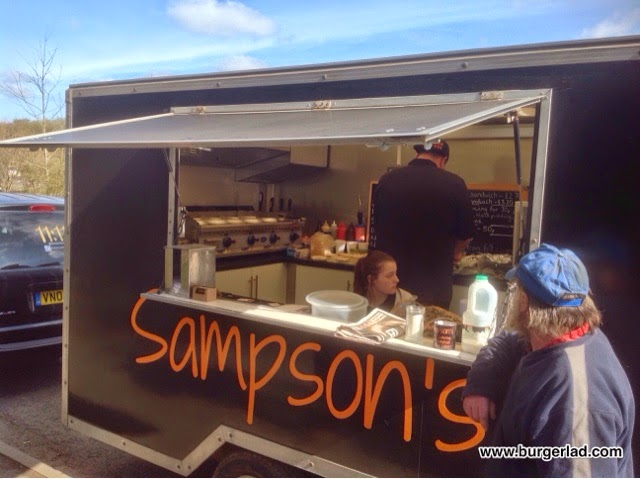 Sampson's Burger Van Worcester