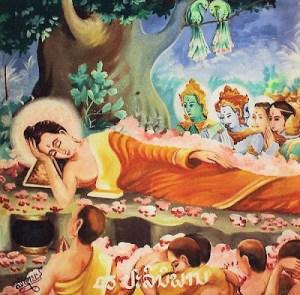 Buddha's death