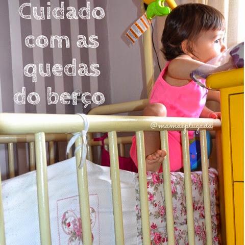 Bebê escalando o berço?