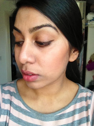 How Ginvera Green tea Nude Cover BB cream looks on the skin