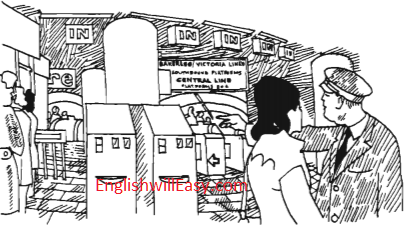London Underground– Situational Dialogues – How to say