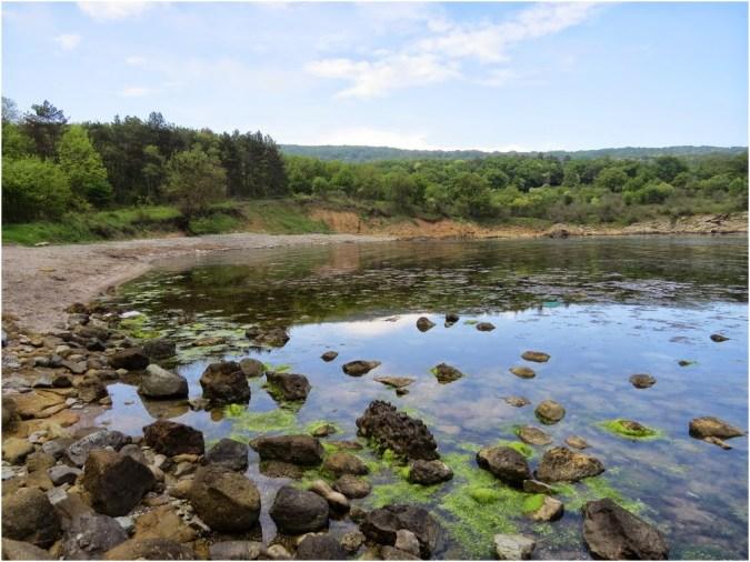 A secluded gulf near Primorsko