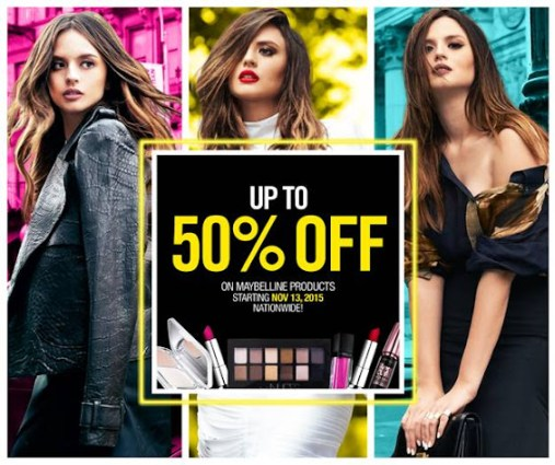 maybelline sale manila