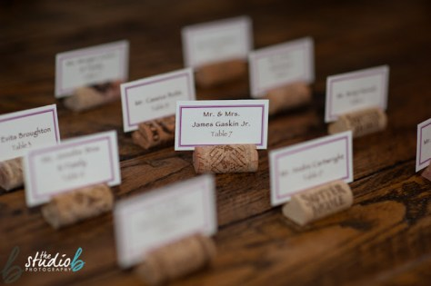 escort cork placecards