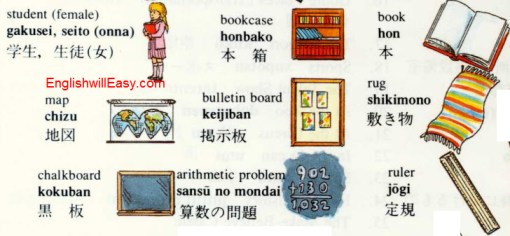classroom%2520 2 教室 place english through pictures