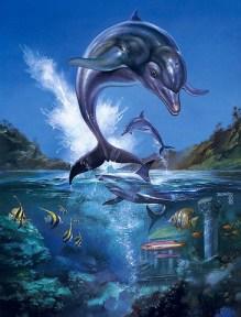 Ecco the Dolphin, de Boris Vallejo