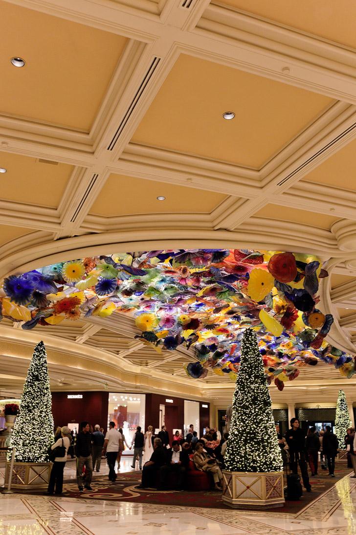 Christmas at Bellagio Las Vegas