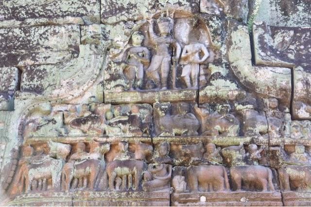 Gopura occidentale della terza cinta