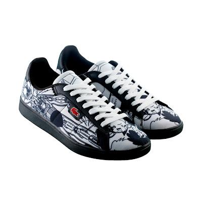 #LACOSTE L!VE x 手塚治虫聯名出擊:獨特原創限量 Broadwick 鞋款 2