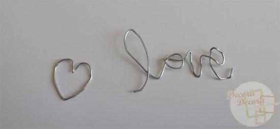 Cómo hacer a mano palabras o nombres para decorar.