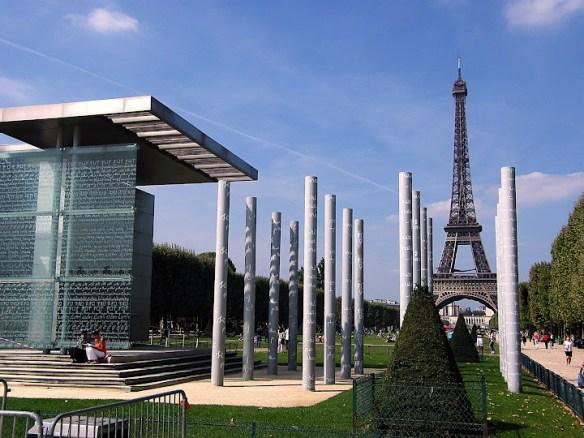 Qué ver en París en un fin de semana; Campos de Marte