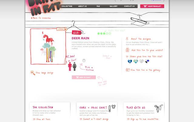 *宛如身歷其境的服飾購物網|Dripping In Fat Web Site 5