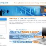 Pantau Blog Atau Laman Web Anda Di FreeWebMonitoring