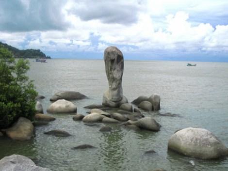 đá có hình chiếc cúp