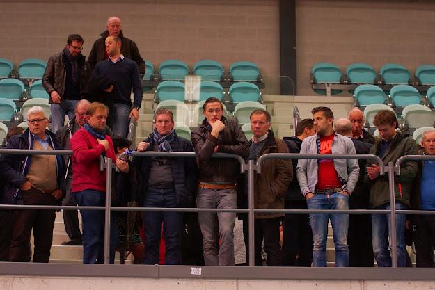 spelersgroep Zulte Waregem bij Knack Roeselare