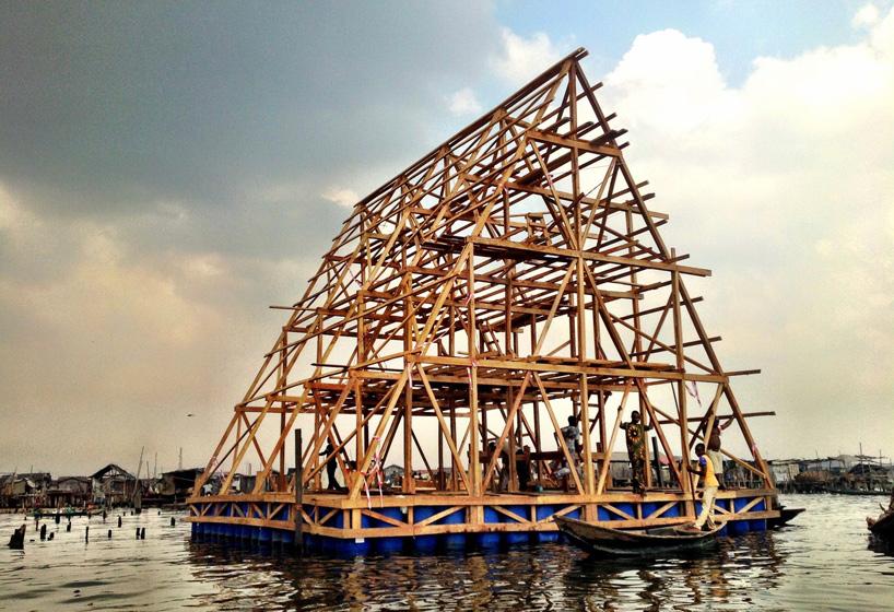 *非洲馬可可(makoko):漂浮在水上的校園! 6