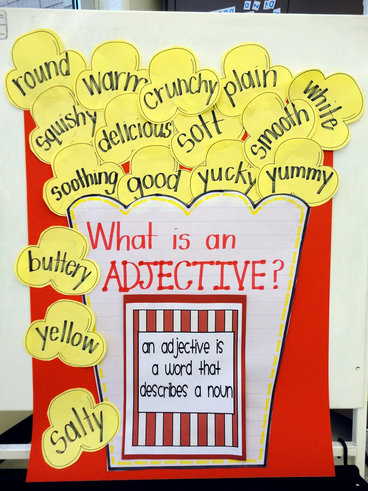 Let S Get Poppin With Adjectives First Grade Adjective
