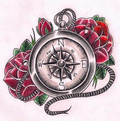 Compass Tattoos