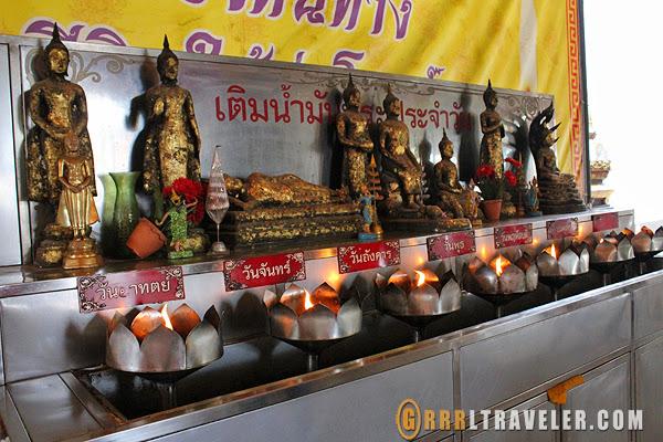 buddhas day of the week, thailand buddhism, thai buddhas