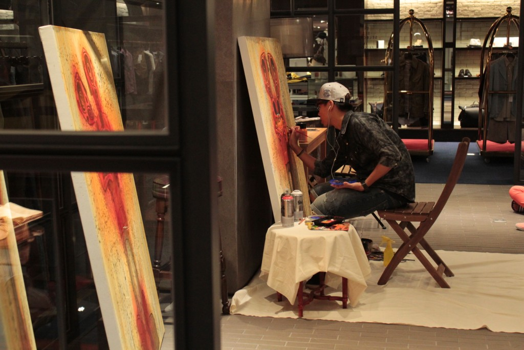 *「想‧ 響‧ 享」塗鴉藝術:BOUNCE x HOTEL V合作推出個展! 5