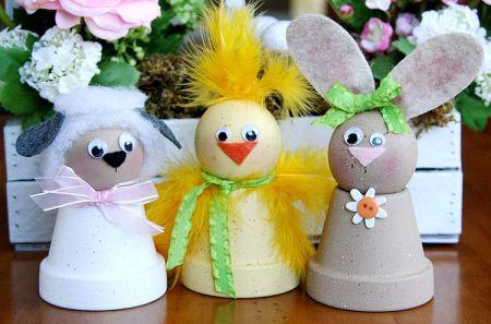 Des figurines de Pâques à fabriquer avec les enfants