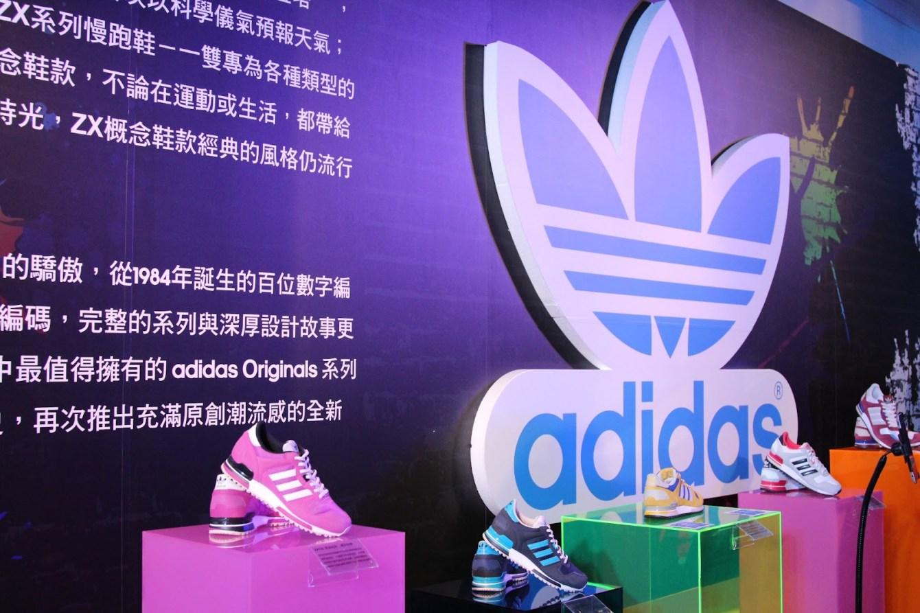 *adidas Unite all Originals:林辰唏、胡宇威與你一起互動 AR CODE(擴增實境)技術! 7