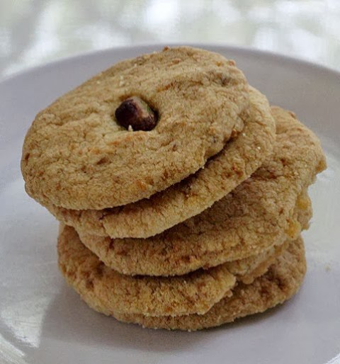 Eggless Coconut Cookies Recipe