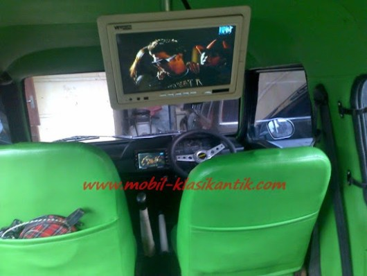Audio hijet 1000 pasang tv dobel