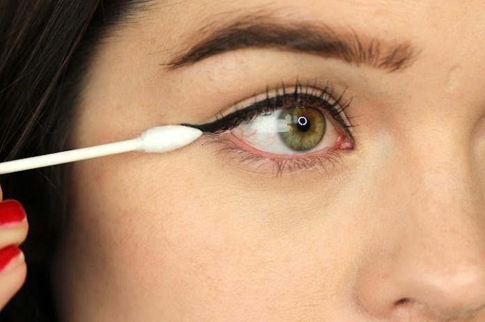 Image result for cotton buds eyeliner