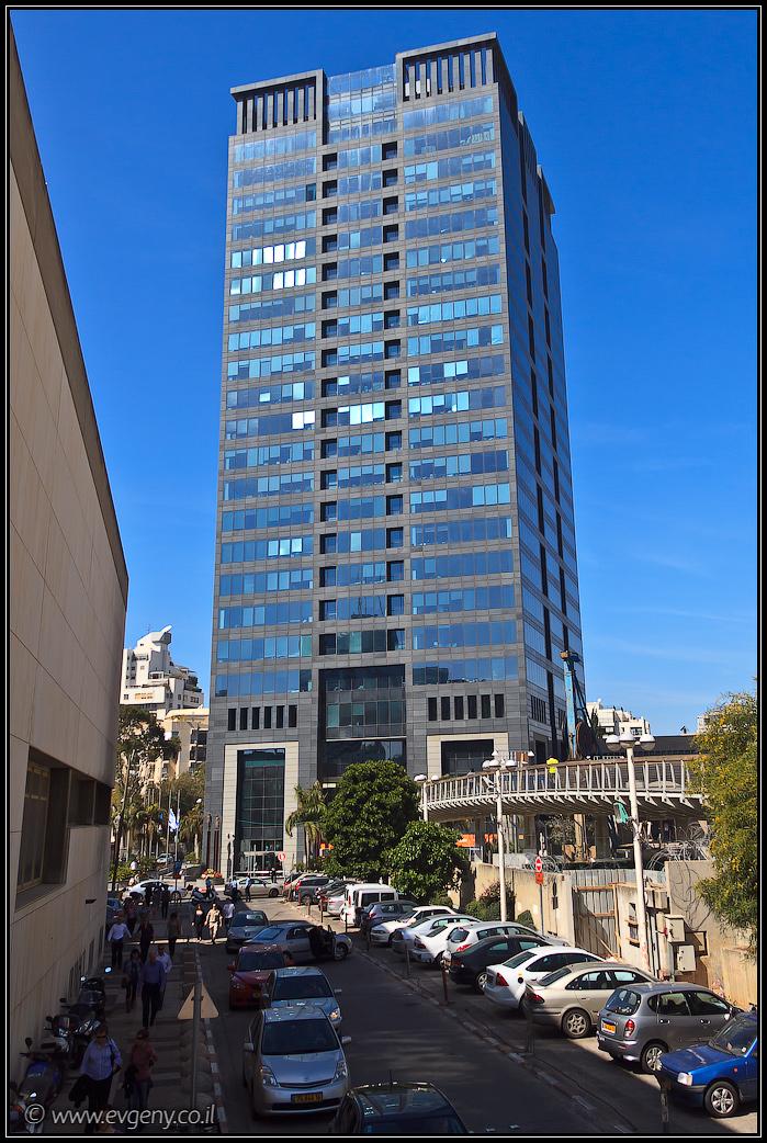 Tel Aviv skyscrapers - מגדל המוזיאון תל אביב