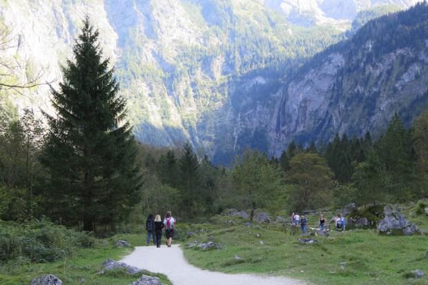 Zahlreiche Wege führen durch den Nationalpark