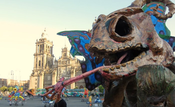 alebrije in Mexico City