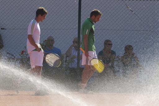 Doppelfinale Herren mit Markus und Frank