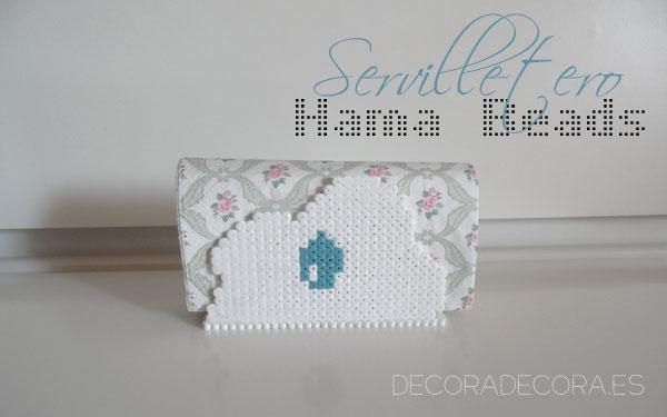 Servilletero de Hama Beads