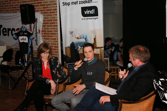 Janne Vanneste en Ward Vander Meiren leggen uit waarom Vind! wil sponsoren