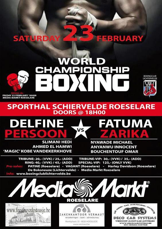 World Championship Boxing Roeselare 2013