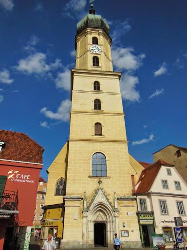 EUROPEOS VIAJEROS: La Iglesia de los Franciscanos en Graz