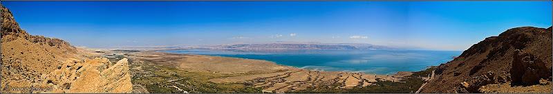 Раскинолось море широко - Панорамы Мертвого моря и окрестностей