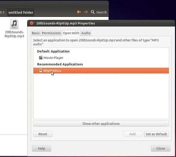 How-to: replace Banshee with Rhythmbox on Ubuntu 11.10 (3/3)