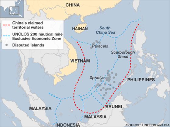 Yongxing Island: China claims to South China Sea
