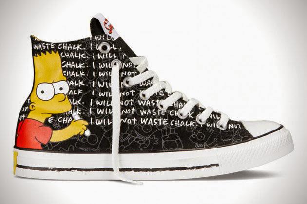 *The Simpsons x Chuck Taylor All Star:辛普森家族這次不吃甜甜圈! 5