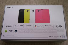 白色 Sony Xperia Z1 Compact 開箱文 (3/6)